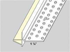 Trim-Tex Wall Mounted Deflection Bead